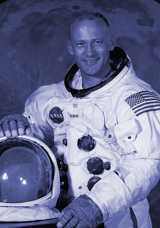 Buzz Aldrin (1930-  )